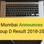 RRB Mumbai Announces RRB Group D Result 2018-2019