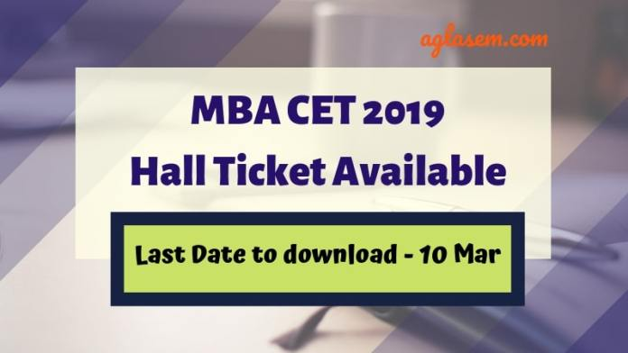 DTE Maharashtra MBA CET 2019 admit card released, how to download