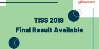 TISS 2019 Final Result Available