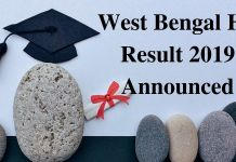 WB HS Result 2019 Announced
