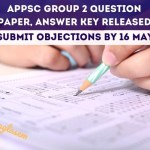 APPSC Group 2 Question Paper Answer Key