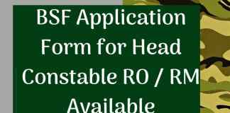 BSF-Head-Constable-Application-Form-2019-Aglasem