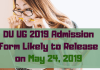 DU-UG-2019-Admission-Form-Likely-to-Release-on-May-24-Aglasem