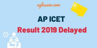 AP ICET Result 2019 Delayed