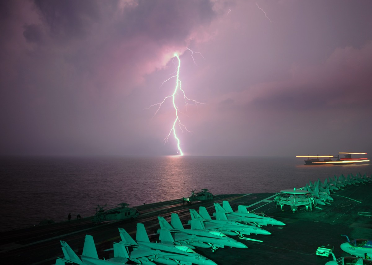 Ship Exhaust Makes Oceanic Thunderstorms More Intense