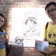 情侶七夕情人節看展 幸運成為「台灣ONE PIECE展」第15萬名入場觀眾