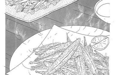 炸丁香魚01