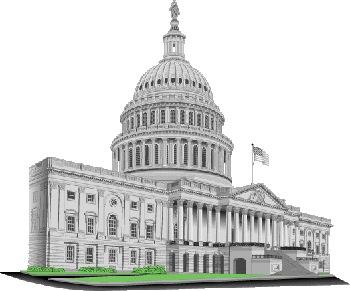 USA WASHINGTON D.C. CAPITOL BLDG
