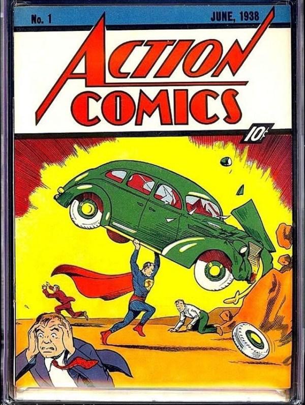 $3.2 Million Superman Comic an Auction Record - artnet News