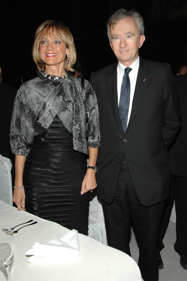 Bernard and Helene Arnault