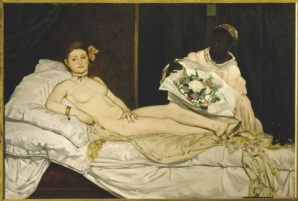 Nude Performance Artist Speaks Out after Muséed'Orsay Arrest Édouard Manet, Olympia (1863). Image: Courtesy of New Directions.