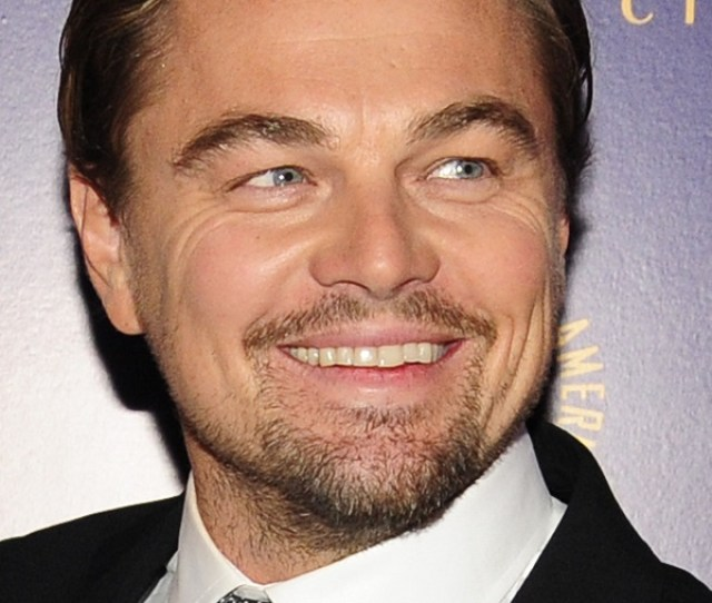 Leonardo Dicaprio Cuts The Line At Mobbed Mike Kelley Show