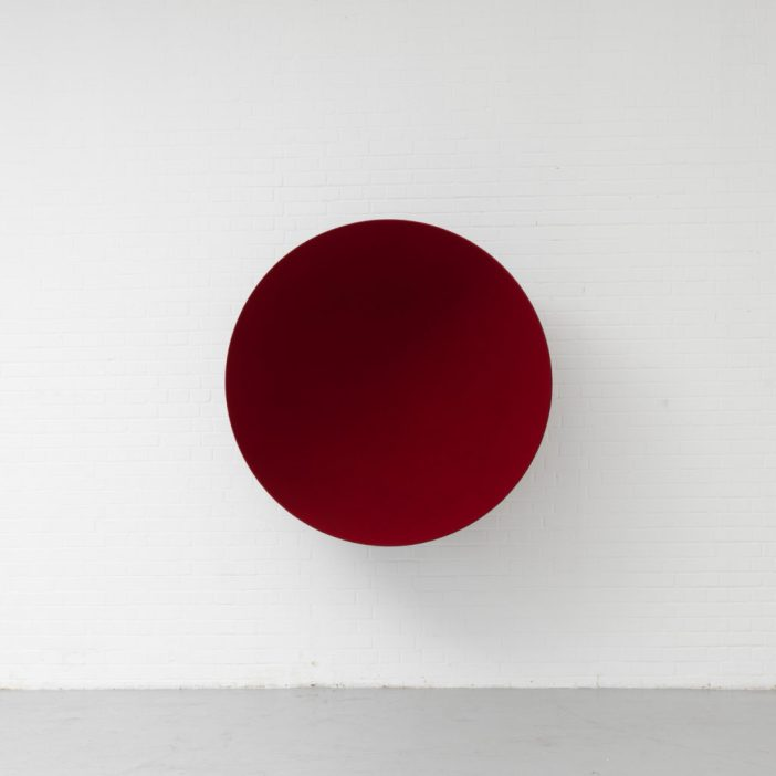 Anish Kapoor Void (1990). Photo: courtesy of Lisson Gallery.