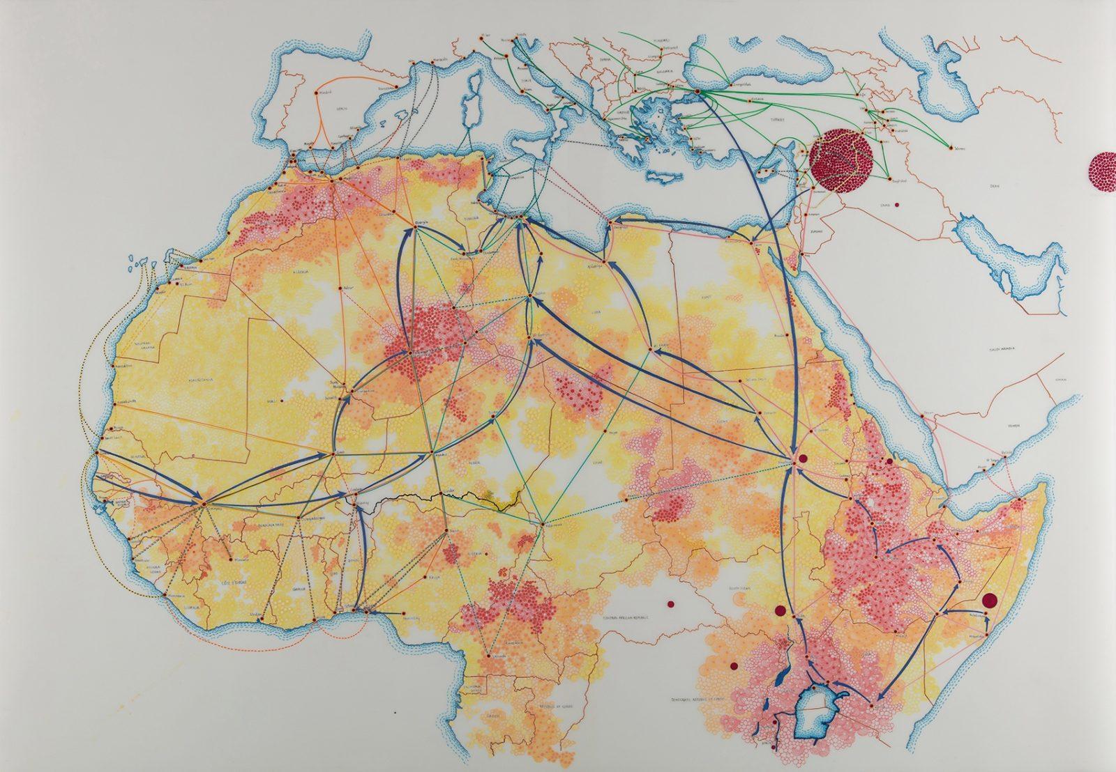 yoko africa map