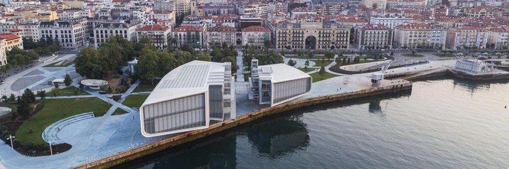 Renzo Piano's Centro Botín in Santander. Image courtesy of the Centro Botín.