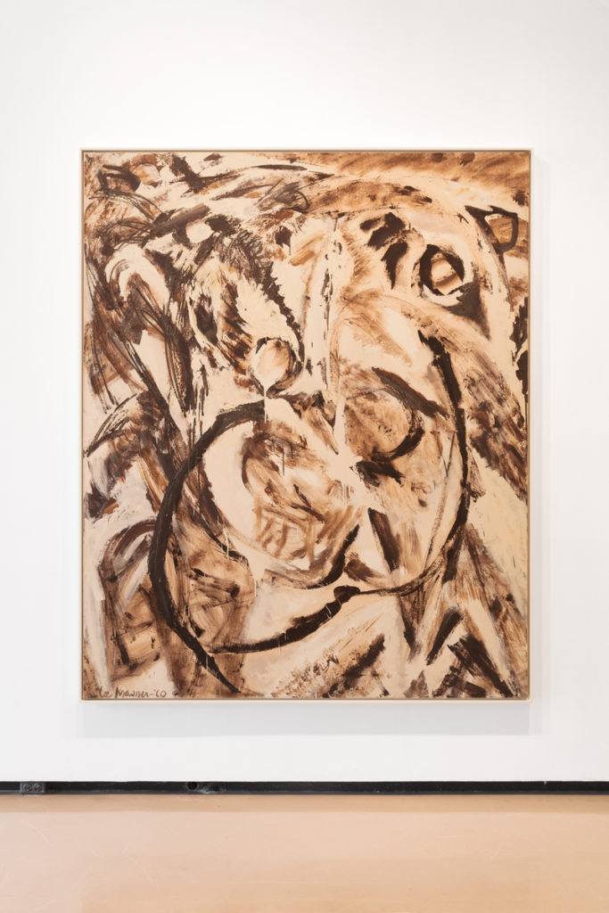 Lee Krasner, <em>Fecundity</em> (1960), installation view. © 2017 The Pollock-Krasner Foundation/Artists Rights Society (ARS), New York. Photo courtesy of Paul Kasmin Gallery.