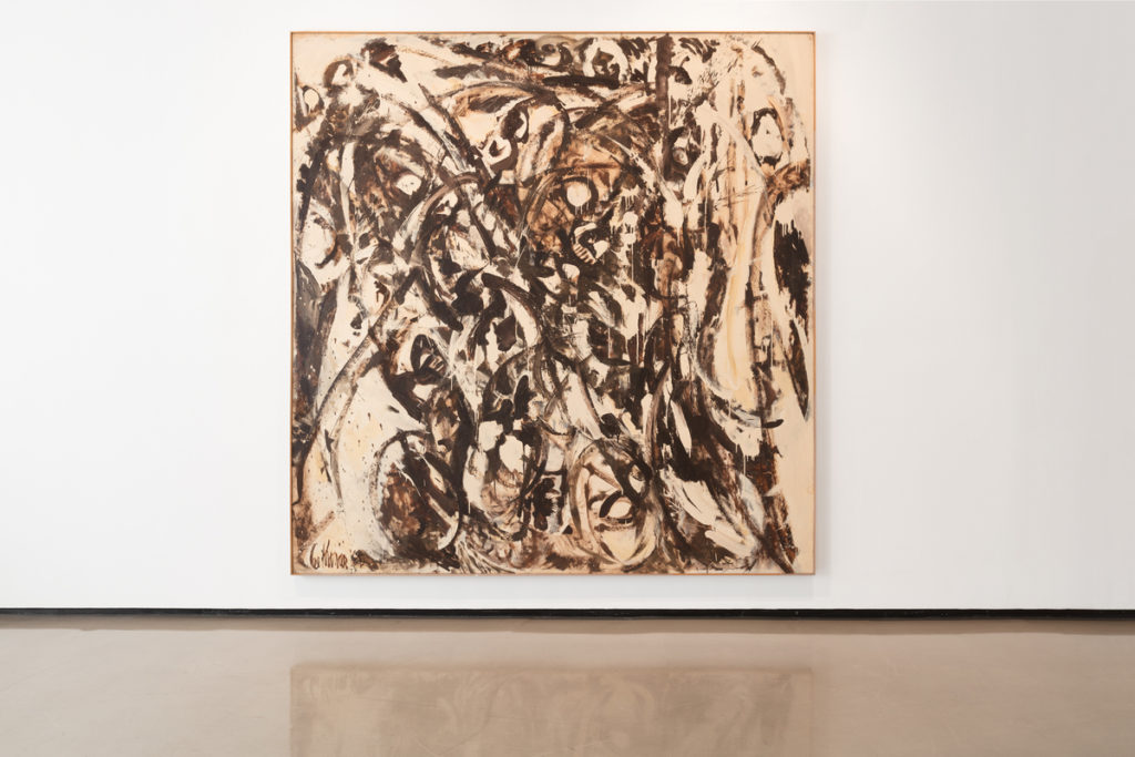 Lee Krasner, Uncaged (1960), installation view. © 2017 The Pollock-Krasner Foundation/Artists Rights Society (ARS), New York. Photo courtesy of Paul Kasmin Gallery.