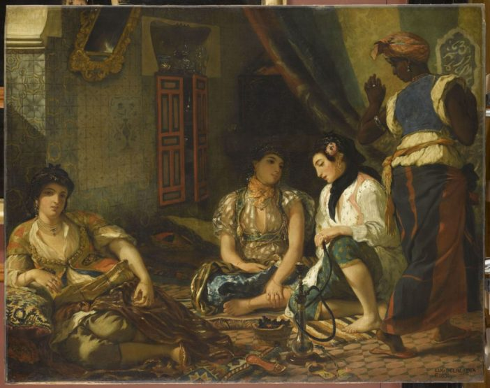Eugène Delacroix, Women of Algiers in Their Apartment (1833-1834)