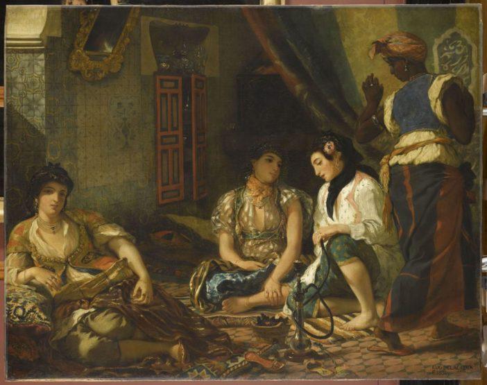 Eugène Delacroix, Women of Algiers in Their Apartment (1833-1834)