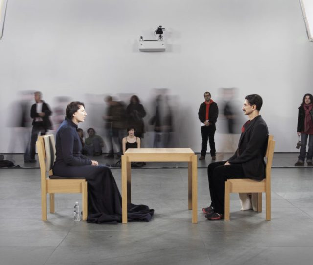 Marina Abramovic The Artist Is Present Photo By Marco Anelli 2010 Marco Anelli