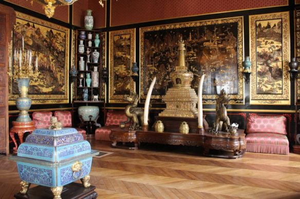 The Chinese Museum at the Château de Fontainebleau outside of Paris. Photo courtesy of the Château de Fontainebleau.