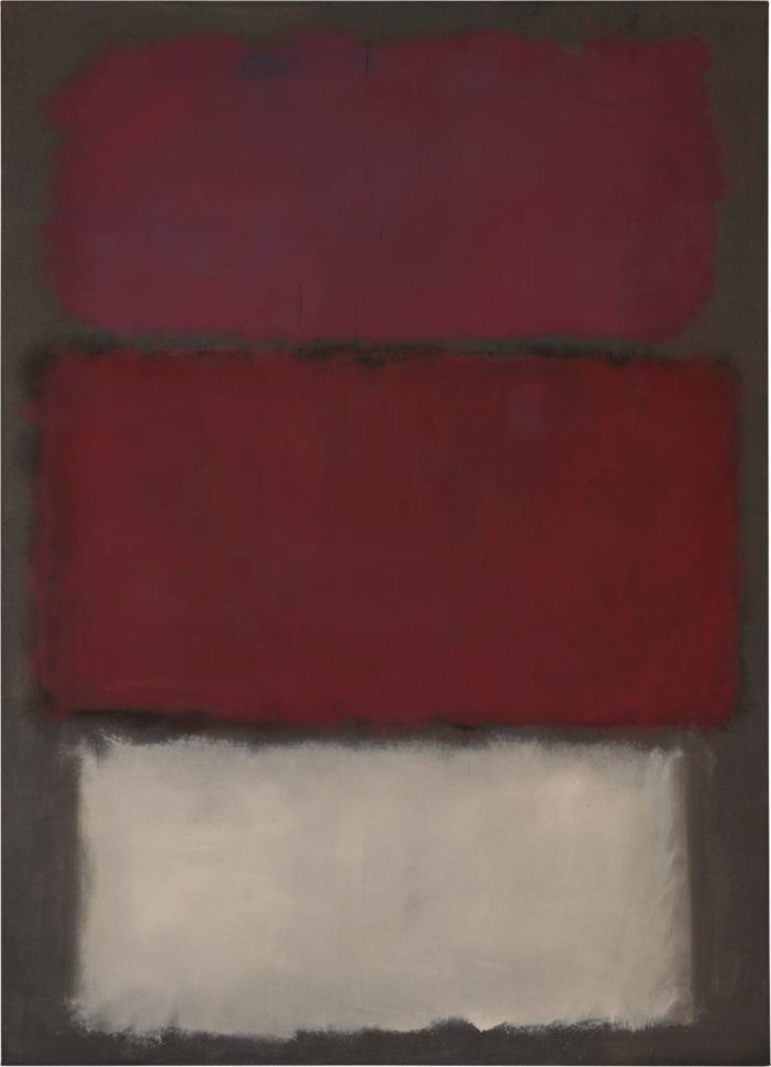 Mark Rothko, Untitled (1960). Courtesy of Sotheby's.