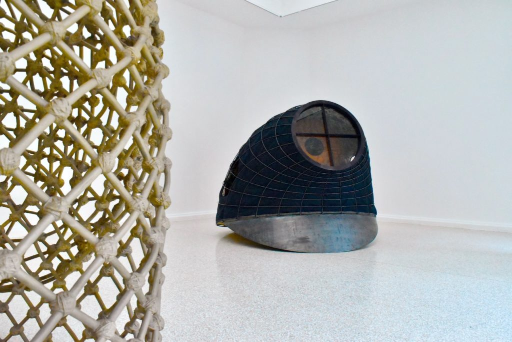 Venice Biennale 2019 Martin Puryear, Tabernacle (2019). Image courtesy Ben Davis.