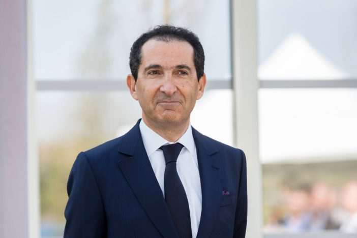 Patrick Drahi, presidente da Altice, grupo francês de telecom