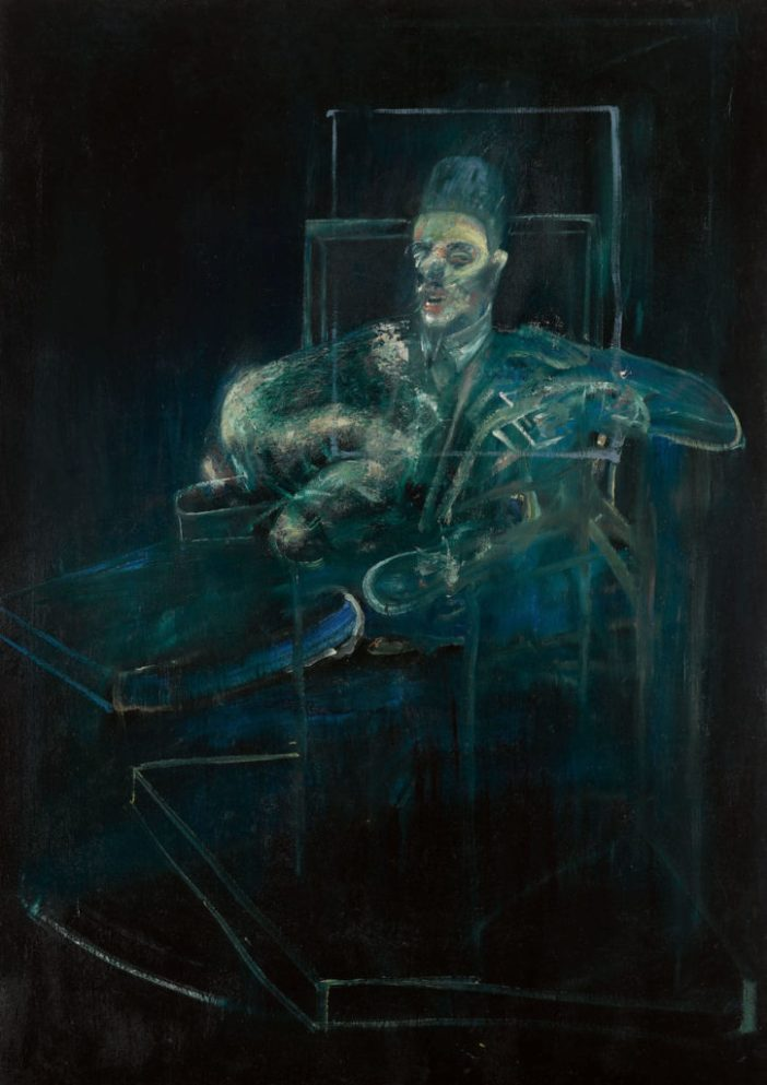 Francis Bacon, Pope (1958). Courtesy of Sotheby's.
