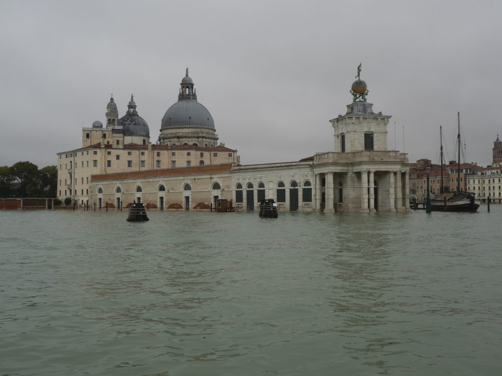 Venice suffers worst flooding for 50 years. Photo by Anna Henly / Barcroft Media via Getty Images.