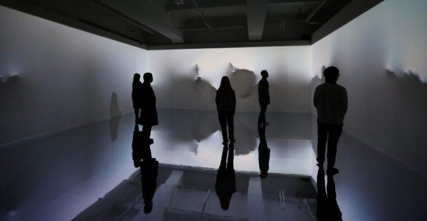 Yiyun Kang, Beyond the Scene. Yiyun Kang Continuum. Render images, projection mapping installation, 2020.