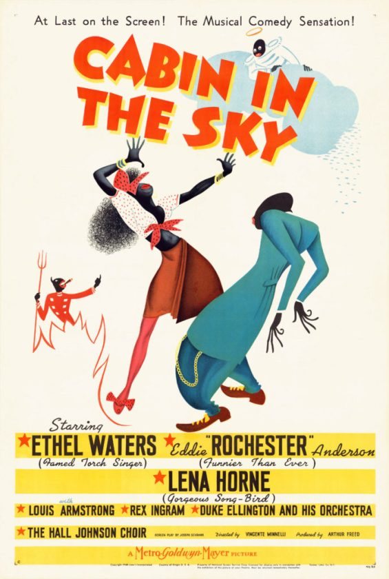 "Film poster for <em>Cabin in the Sky</em> (1943). Courtesy of the Lucas Museum of Narrative Art, from the Separate Cinema Archive."" width=""689″ height=""1024″ srcset=""https://news.artnet.com/app/news-upload/2020/01/Cabin-in-the-Sky_27x41-poster_1943-689×1024.jpg 689w, https://news.artnet.com/app/news-upload/2020/01/Cabin-in-the-Sky_27x41-poster_1943-202×300.jpg 202w, https://news.artnet.com/app/news-upload/2020/01/Cabin-in-the-Sky_27x41-poster_1943-34×50.jpg 34w, https://news.artnet.com/app/news-upload/2020/01/Cabin-in-the-Sky_27x41-poster_1943-1291×1920.jpg 1291w"" sizes=""(max-width: 689px) 100vw, 689px""></p> <p class="