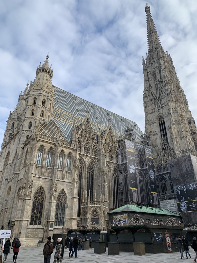 St. Stephen's Cathedral, Vienna's Stephansdom. Photo by Sarah Cascone.