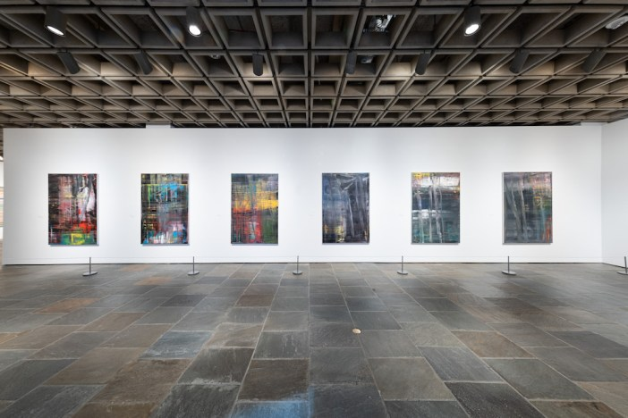 Parte da exposição 'Gerhard Richter, Painting After All' no The Met Breuer, 2020. Courtesy The Metropolitan Museum of Art. Photo by Chris Heins.
