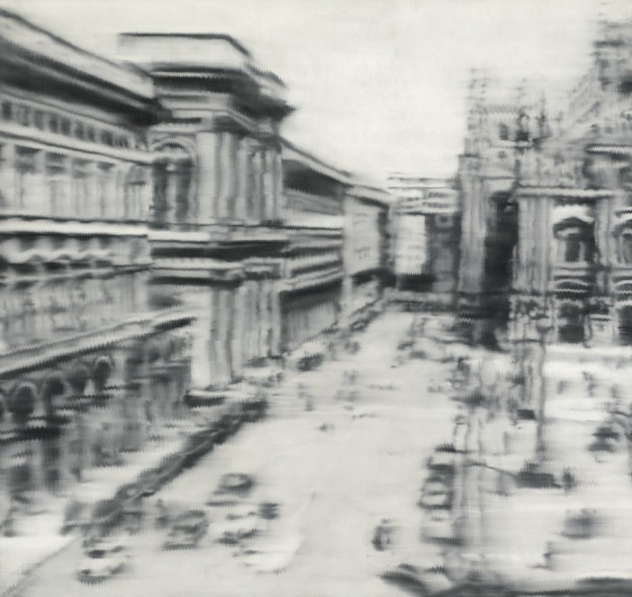 Gerhard Richter, Domplatz, Mailand (Cathedral Square, Milan) (1968). Image courtesy Sotheby's