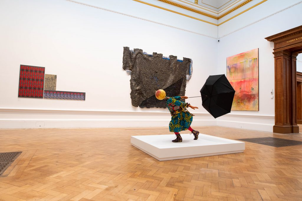 Installation view of the Summer Exhibition 2020 (6 October 2020 – 3 January 2021) at the Royal Academy of Arts, London. Photo: © Royal Academy of Arts / David Parry.