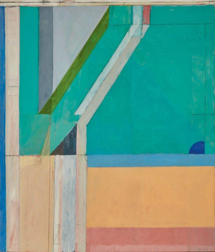 Richard Diebenkorn, Ocean Park No. 40, (1971). Courtesy of Sotheby's.