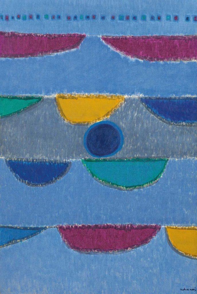 Kim Whan-Ki,8-VIII-66(1966). Courtesy of Seoul Auction