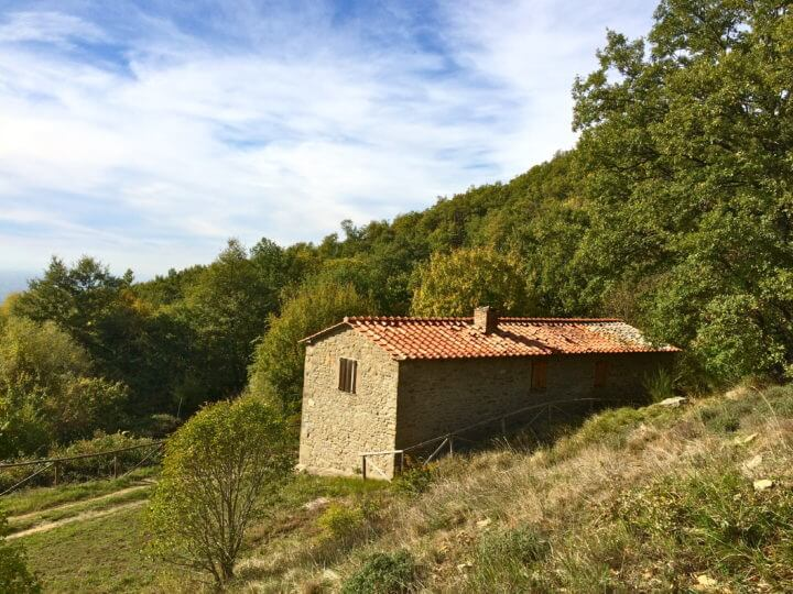 small italian home in countryside