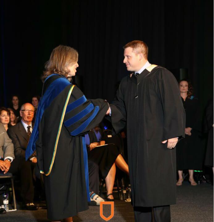 greg graduating (2015)