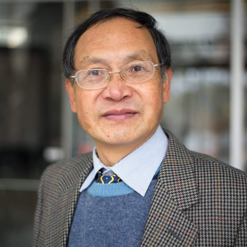 Dr. Junye Wang, Campus Alberta Innovates Program Chair in Computational Sustainability and a prominent member of the Athabasca River Basin Research Institute (ARBRI).