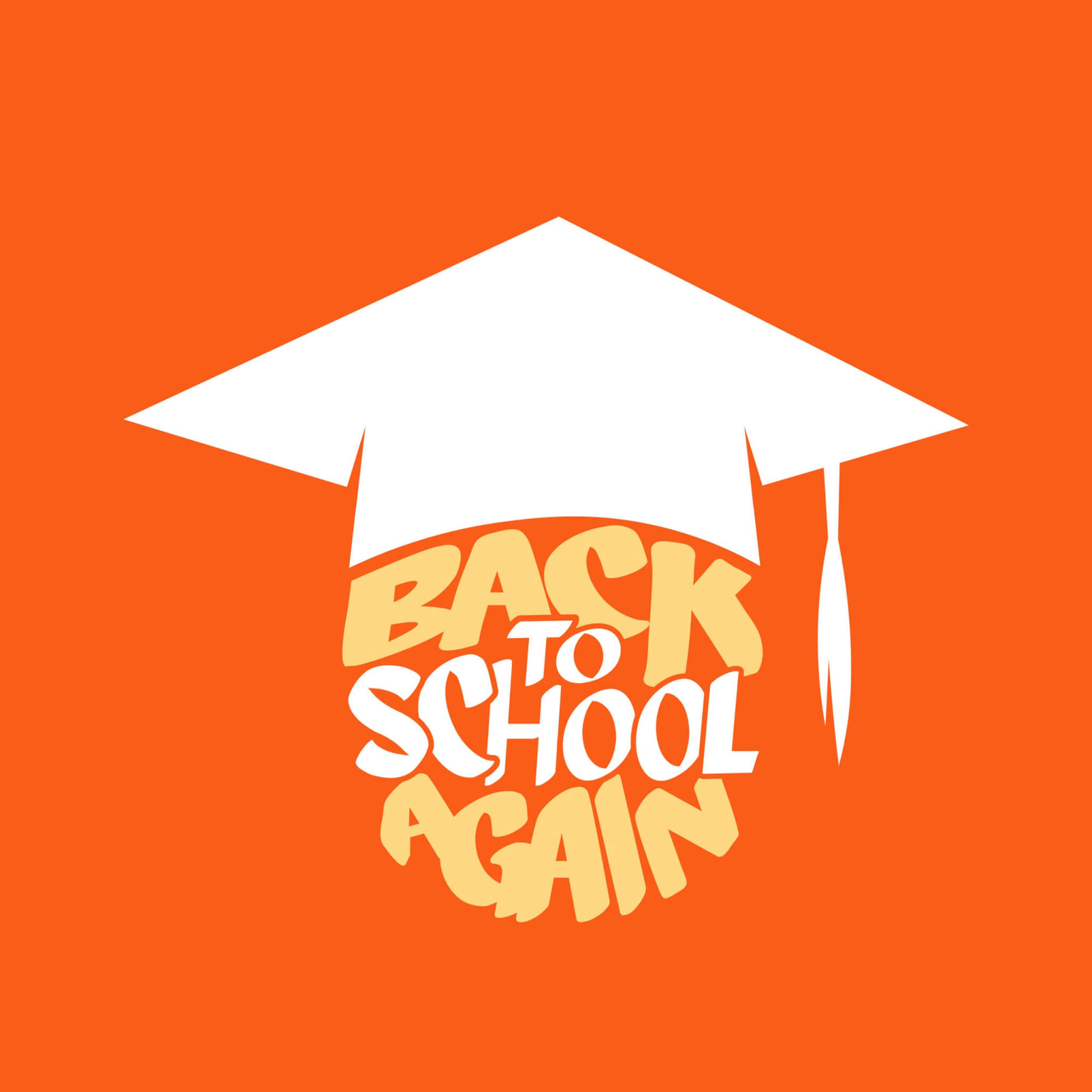 Back To School Again podcast logo