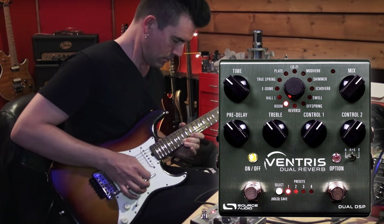 SOURCE AUDIO Pete Thorn Doubles Up on Reverb with Ventris