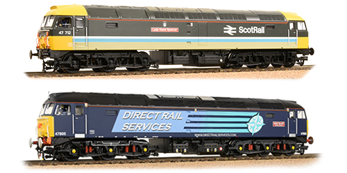 Class 47s – Sales Area Exclusives