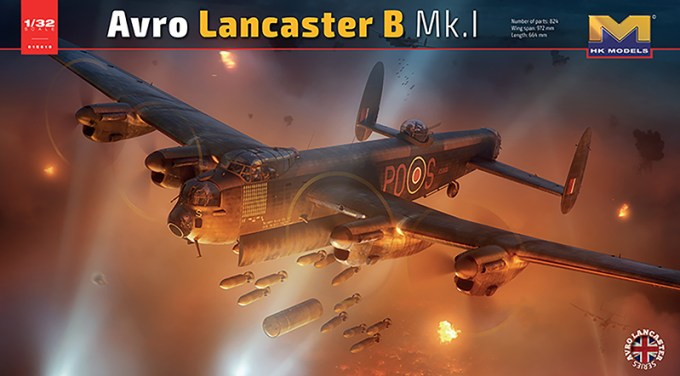 Avro Lancaster Mk.1 Box Artwork