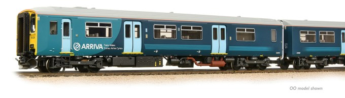 NEW 2019 SOUND FITTED Class 150/2 2-Car DMU No. 150236 Arriva Trains Wales (Revised) (371-334SF)