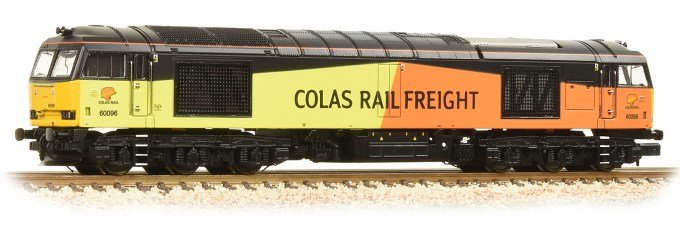 NEW 2019 SOUND FITTED Class 60 No. 60096 Colas Rail Freight (371-358ASF)