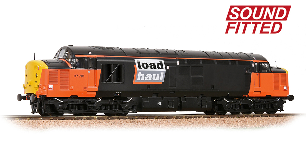 Sales Area Exclusive: Class 37/7 37710 LoadHaul