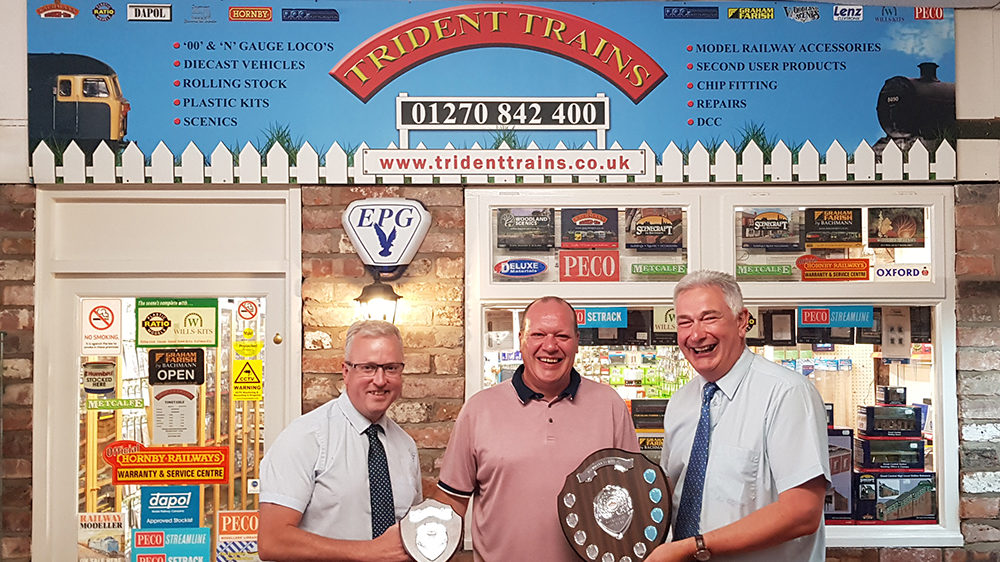 Trident Trains Receives 'Bachmann Retailer of the Year' Award for 2018
