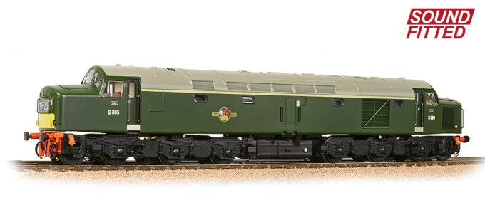 Bachmann Branchline - OO Scale - 32-485SF - Class 40 Centre Headcode D365 BR Green (SYP) SOUND FITTED